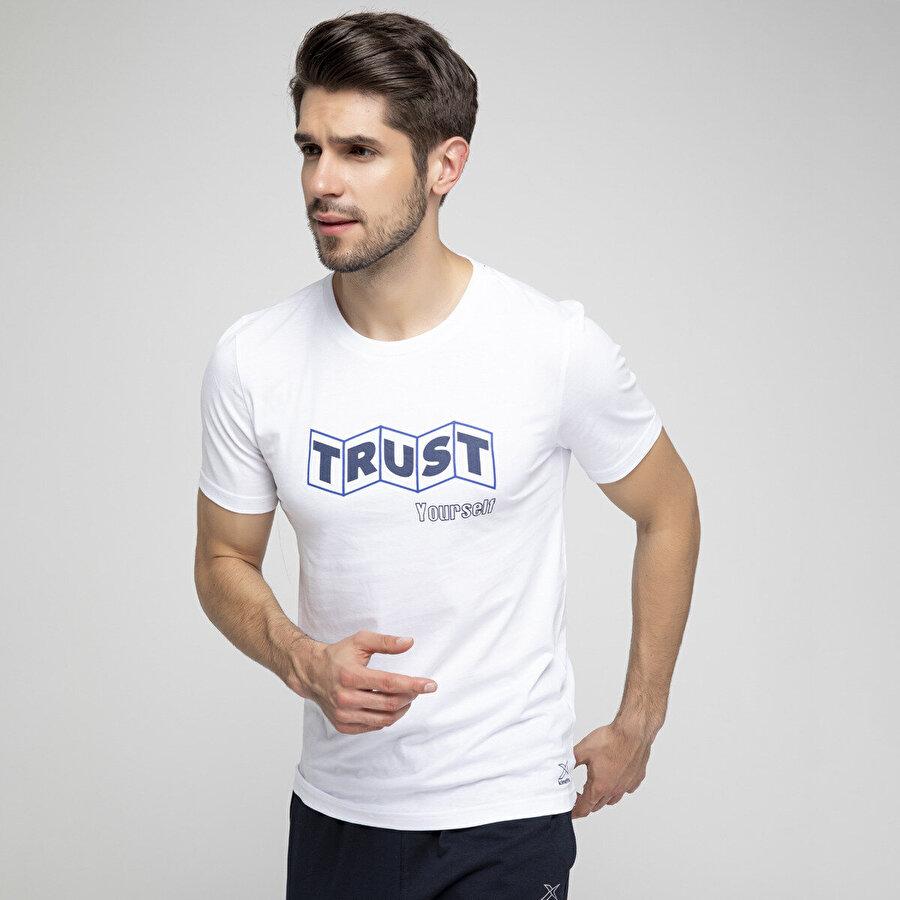 Kinetix LOGAN 3 T-SHIRT Beyaz Erkek Kısa Kol T-Shirt