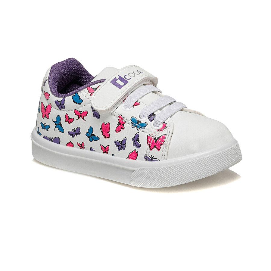 I Cool LOVELY.2 Beyaz Kız Çocuk Sneaker Ayakkabı
