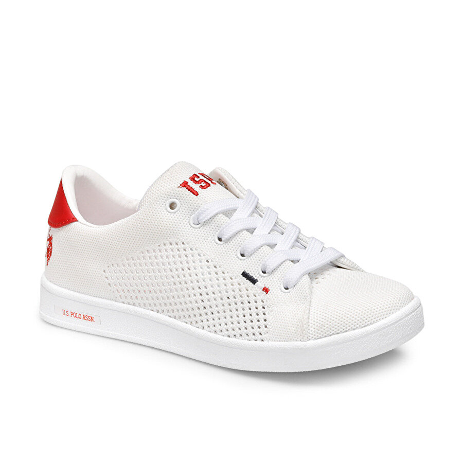 U.S Polo Assn. FRANCO KNITTING Beyaz Kadın Sneaker