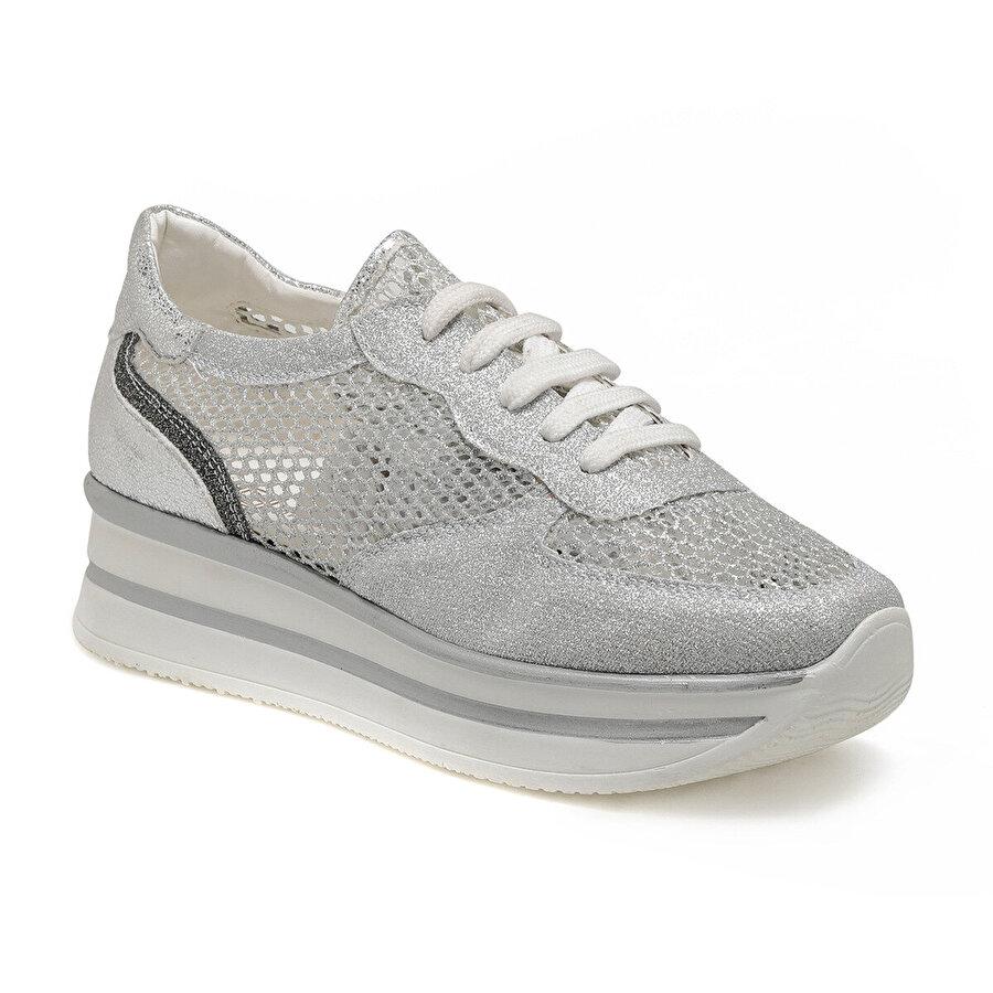 Butigo 19S-003 Gümüş Kadın Sneaker
