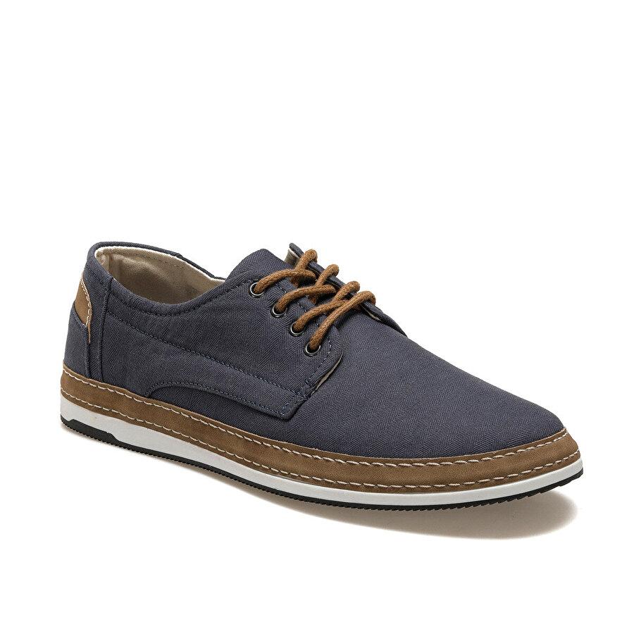 JJ-Stiller G-120-1 Mavi Erkek Klasik Ayakkabı