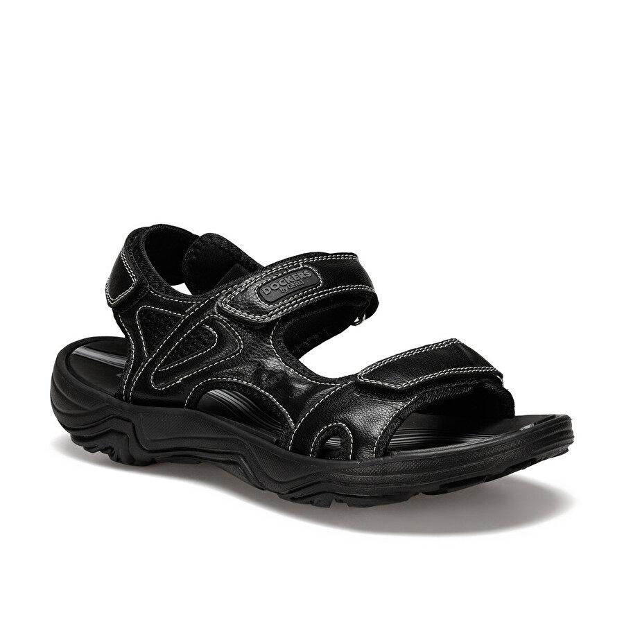 Dockers by Gerli 228651 Siyah Erkek Sandalet
