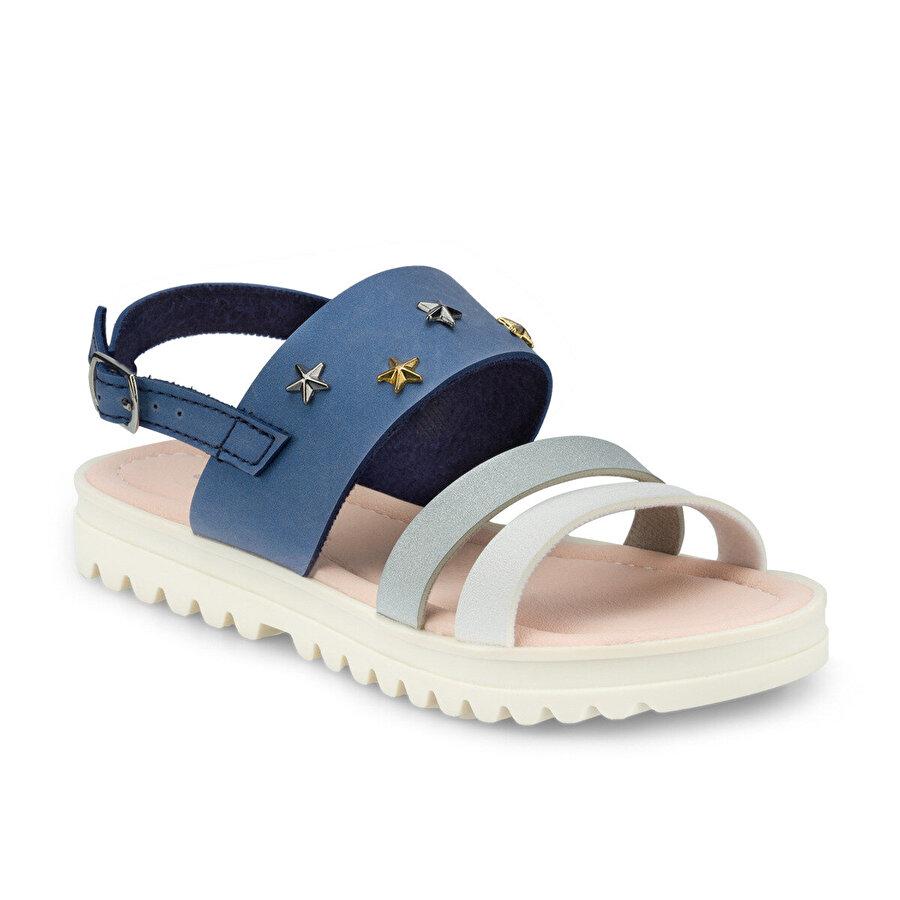 Polaris 512477.F Mavi Kız Çocuk Sandalet