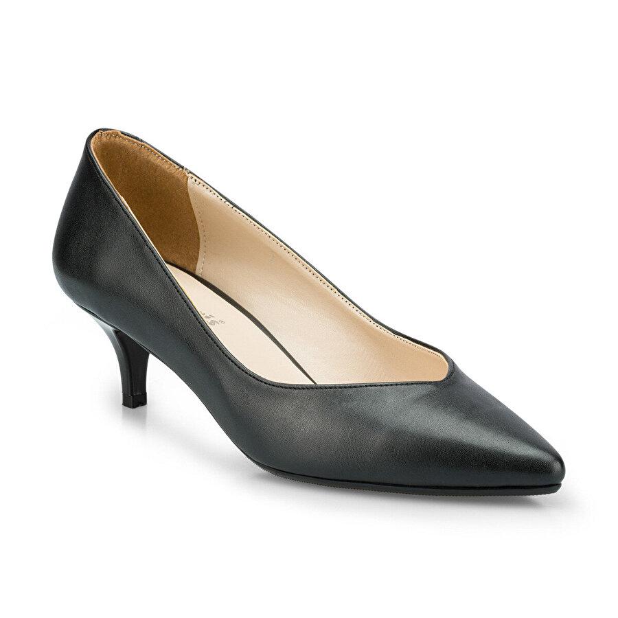 Polaris 315125.Z Siyah Kadın Gova Ayakkabı