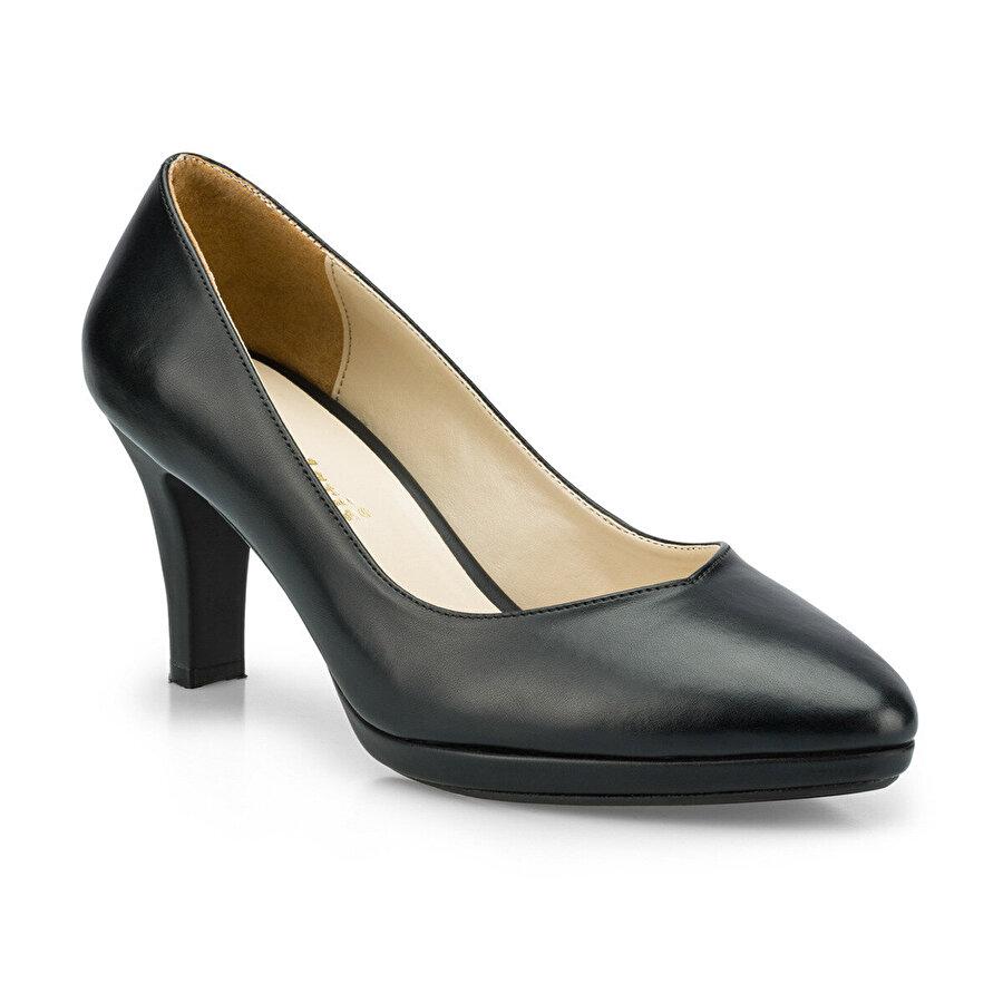 Polaris 315168.Z Siyah Kadın Gova Ayakkabı