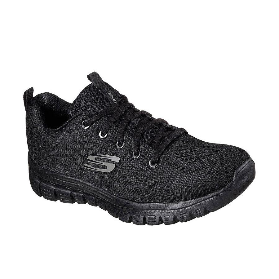 Skechers GRACEFUL-GET CONNECTED Siyah Kadın Sneaker