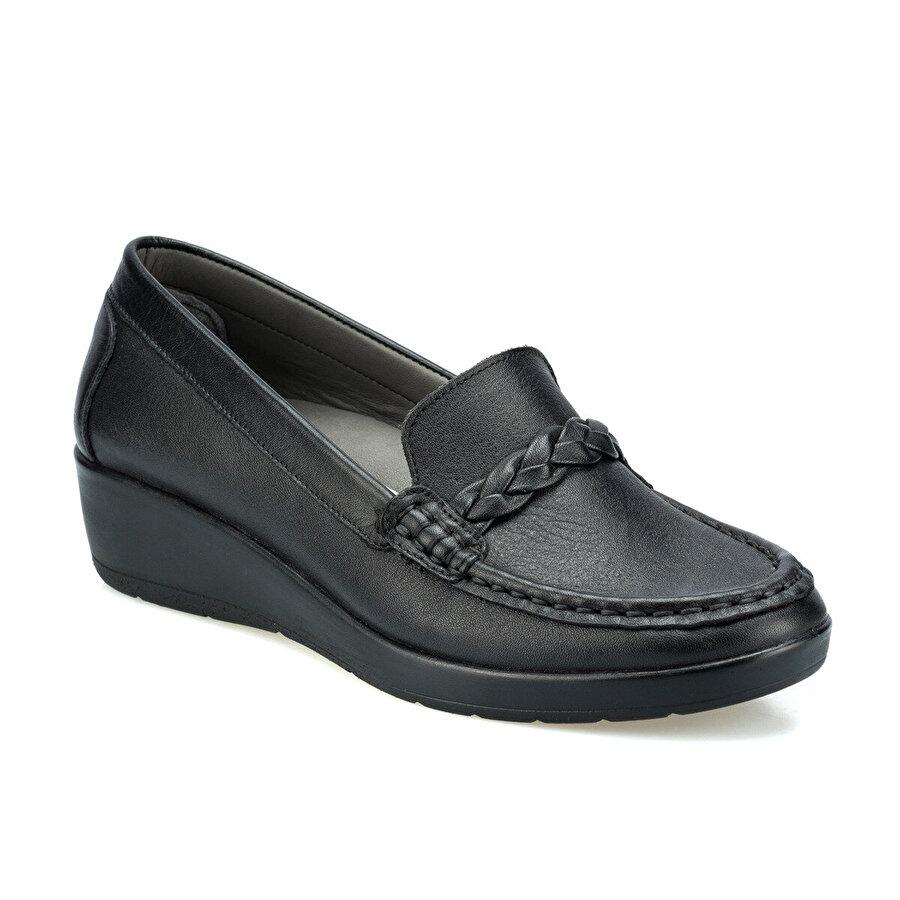 Polaris 5 Nokta 103010.Z Siyah Kadın Comfort Ayakkabı