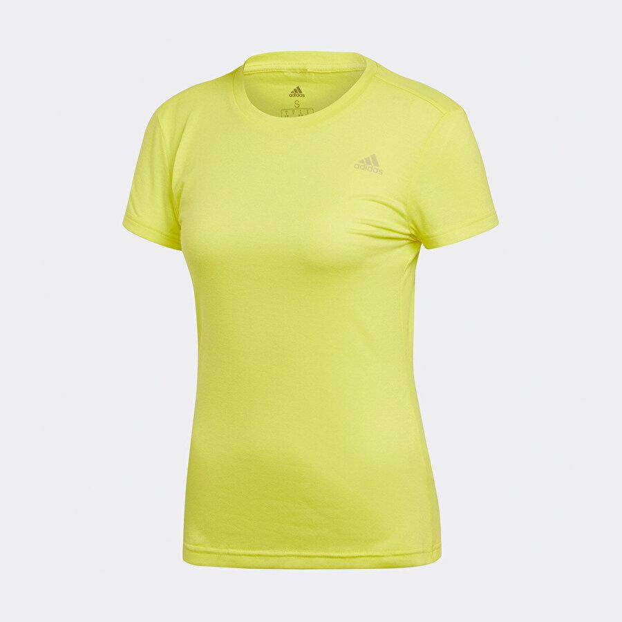 adidas FREELIFT PRIME Sarı Kadın T-Shirt