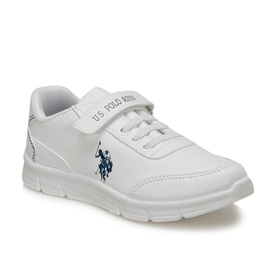 U.S. Polo Assn. BERRY 9PR Beyaz Erkek Çocuk Yürüyüş Ayakkabısı