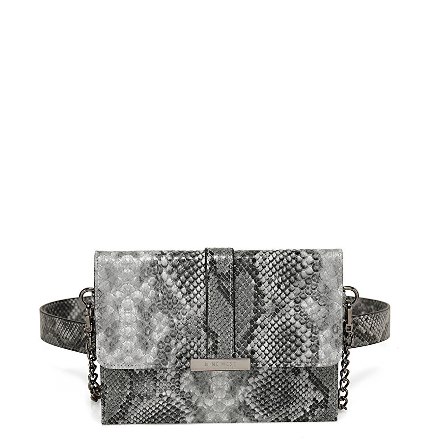Nine West ESSENSO Gri Kadın Clutch