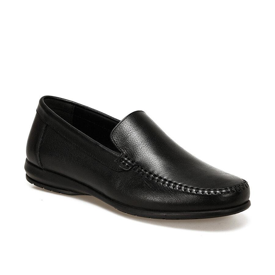 Polaris 5 Nokta 102039.M Siyah Erkek Klasik Ayakkabı