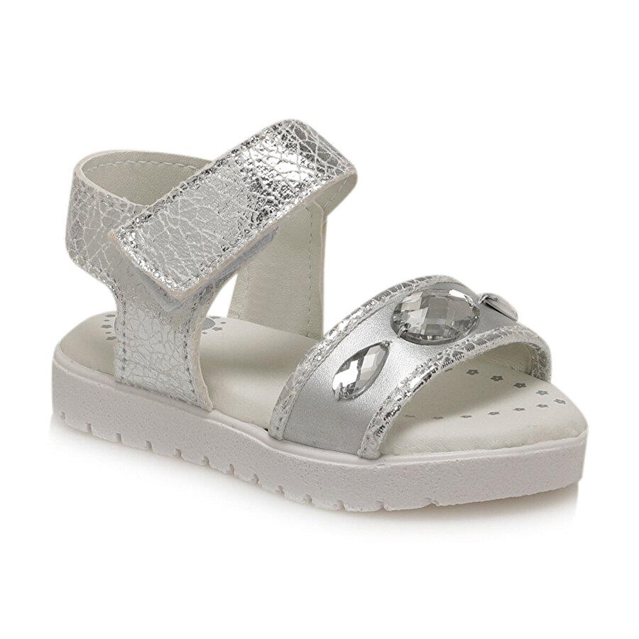 Polaris 81.510089.B Gri Kız Çocuk Sandalet