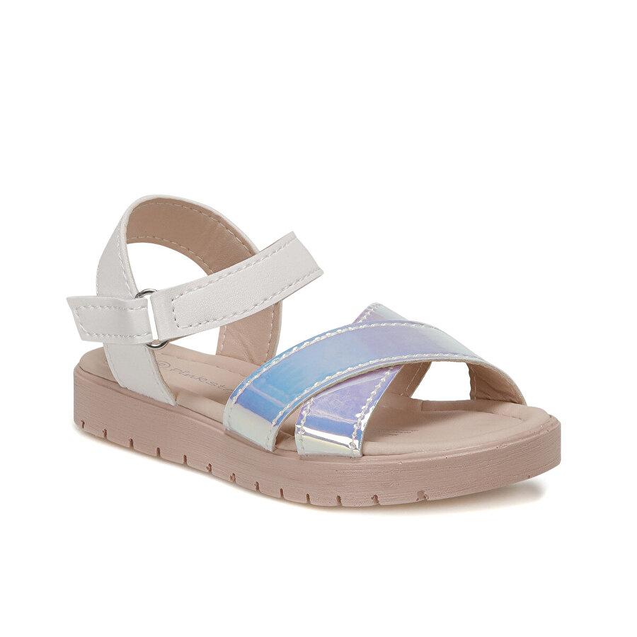 Pink Step SAMY.P Beyaz Kız Çocuk Sandalet