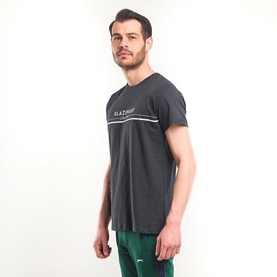 Slazenger KAMA Erkek T-Shirt K.Gri