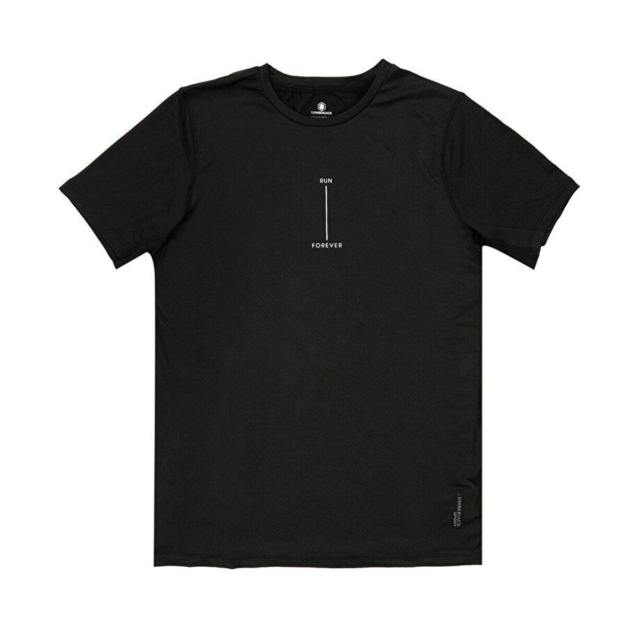 Lumberjack M-18143 GEORGİA KK TSHIRT Siyah Erkek T-Shirt