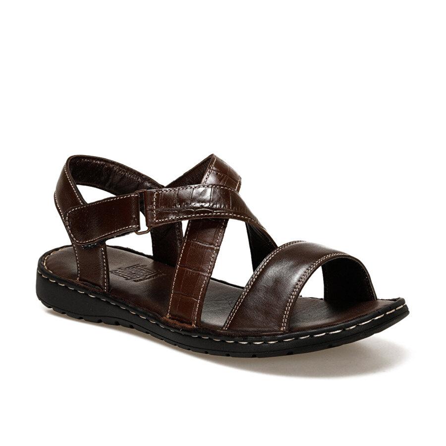 Flogart INT1120Y119 Kahverengi Erkek Sandalet