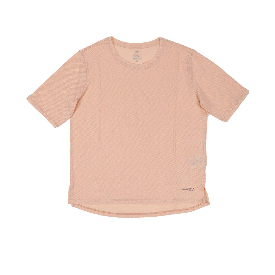 Lumberjack W-1880 WAYNE KK TSHIRT Pembe Kadın T-Shirt