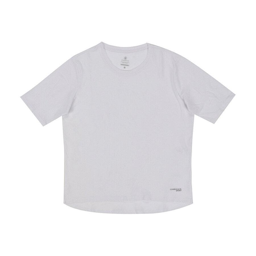 Lumberjack W-1880 WAYNE KK TSHIRT Beyaz Kadın T-Shirt