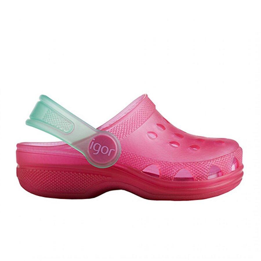Igor İgor S10116 Poppy Havuz Plaj Kız/Erkek Çocuk Sandalet Deniz Ayakkabısı FUŞYA