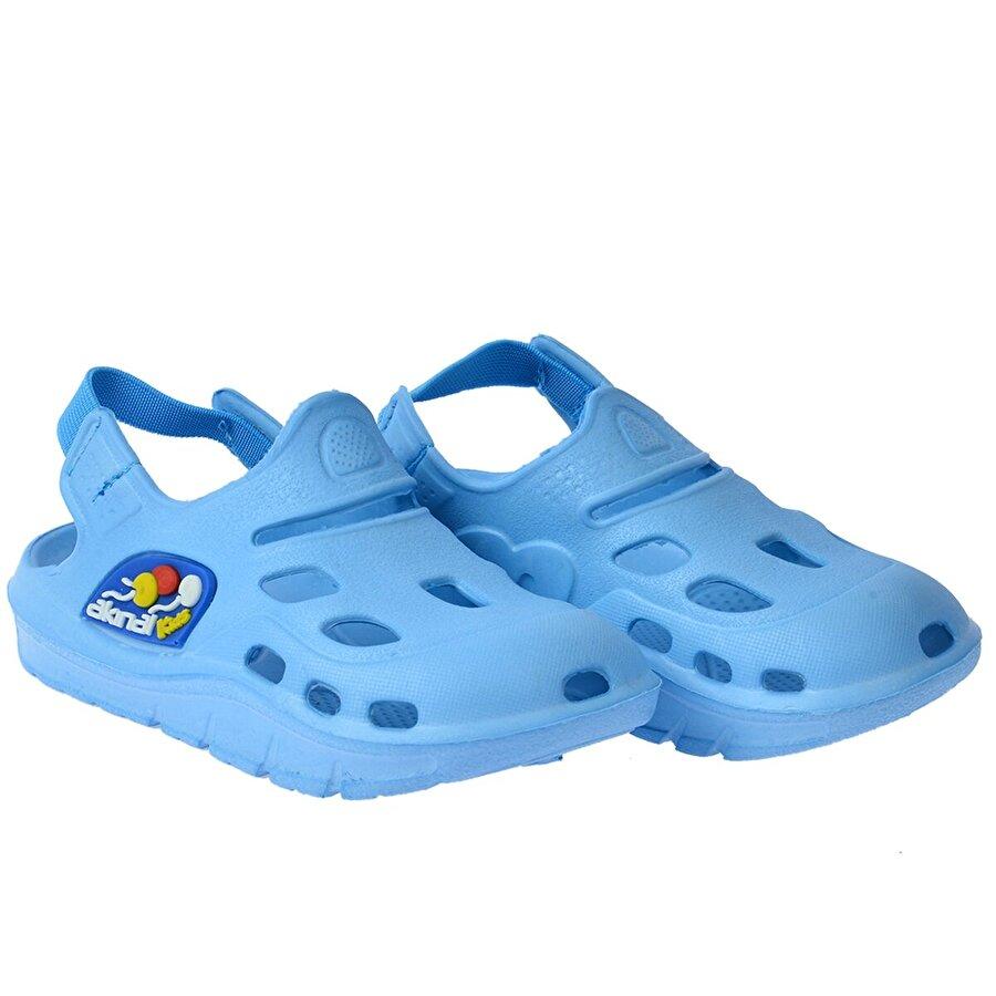 Kiko Kids Kiko Akn E401.000 Plaj Havuz Banyo Kız/Erkek Çocuk Sandalet Terlik TURKUAZ