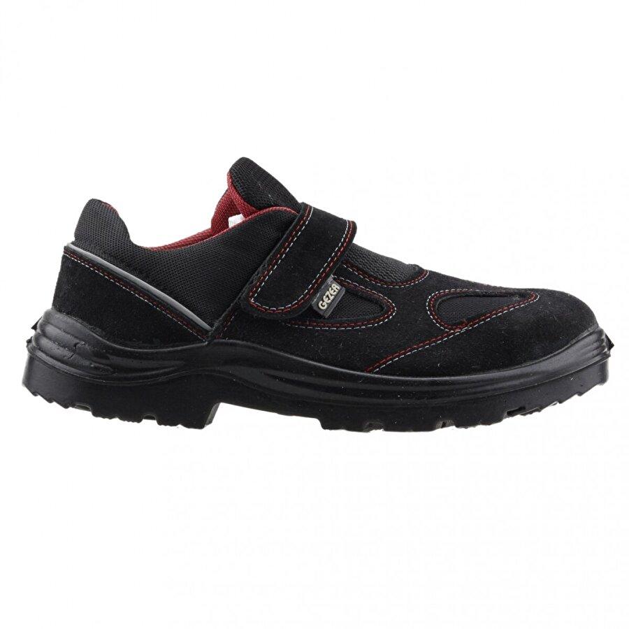GEZER 1453 Çelik Burun Darbe İş Güvenliği Erkek Ayakkabı SİYAH