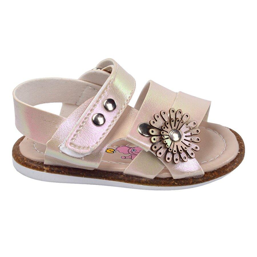 Şirin Bebe Kiko Şb 2301-10 Ortopedik Kız Çocuk İlk Adım Sandalet Terlik Sedef