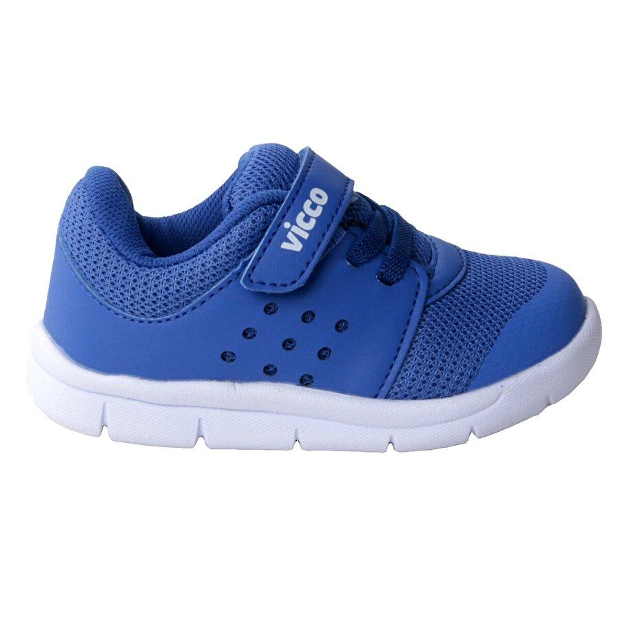 Vicco 346.20Y.200 Günlük Cırtlı Kız/Erkek Çocuk Spor Ayakkabı SAKS