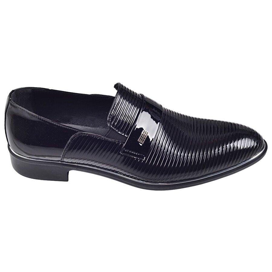 Ayakland Tamboga N579 Günlük Abiye Damatlık Klasik Erkek Ayakkabı SİYAH
