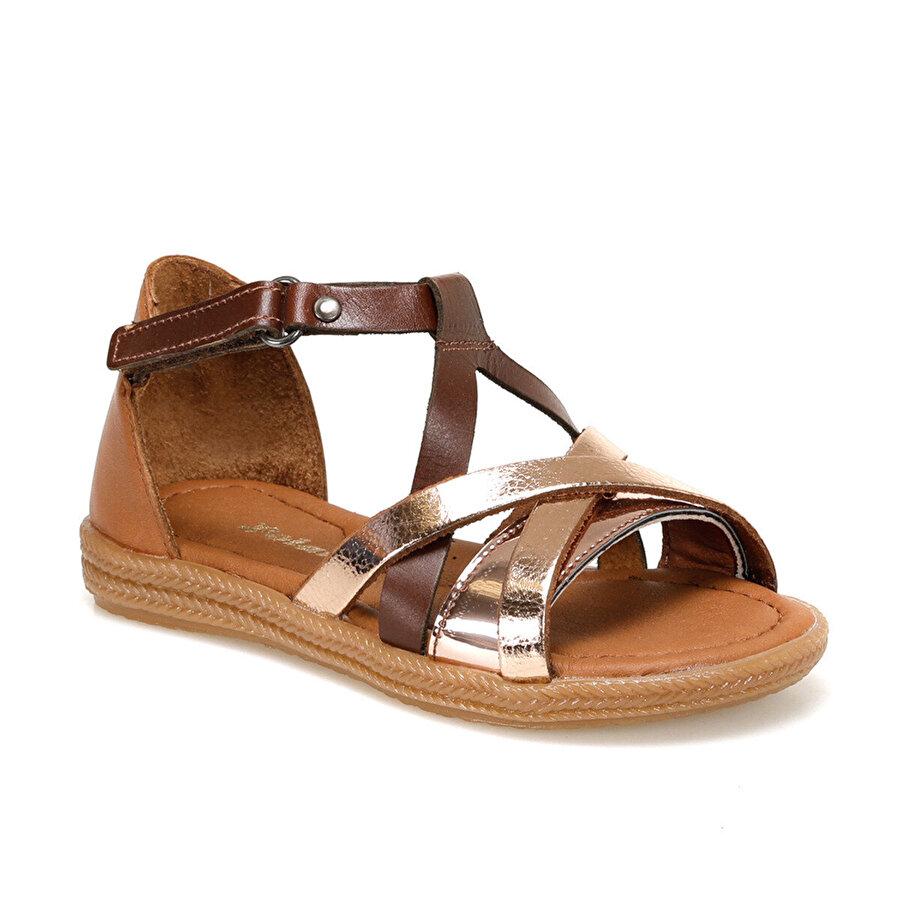 Polaris 91.510075.P Bronz Kız Çocuk Sandalet