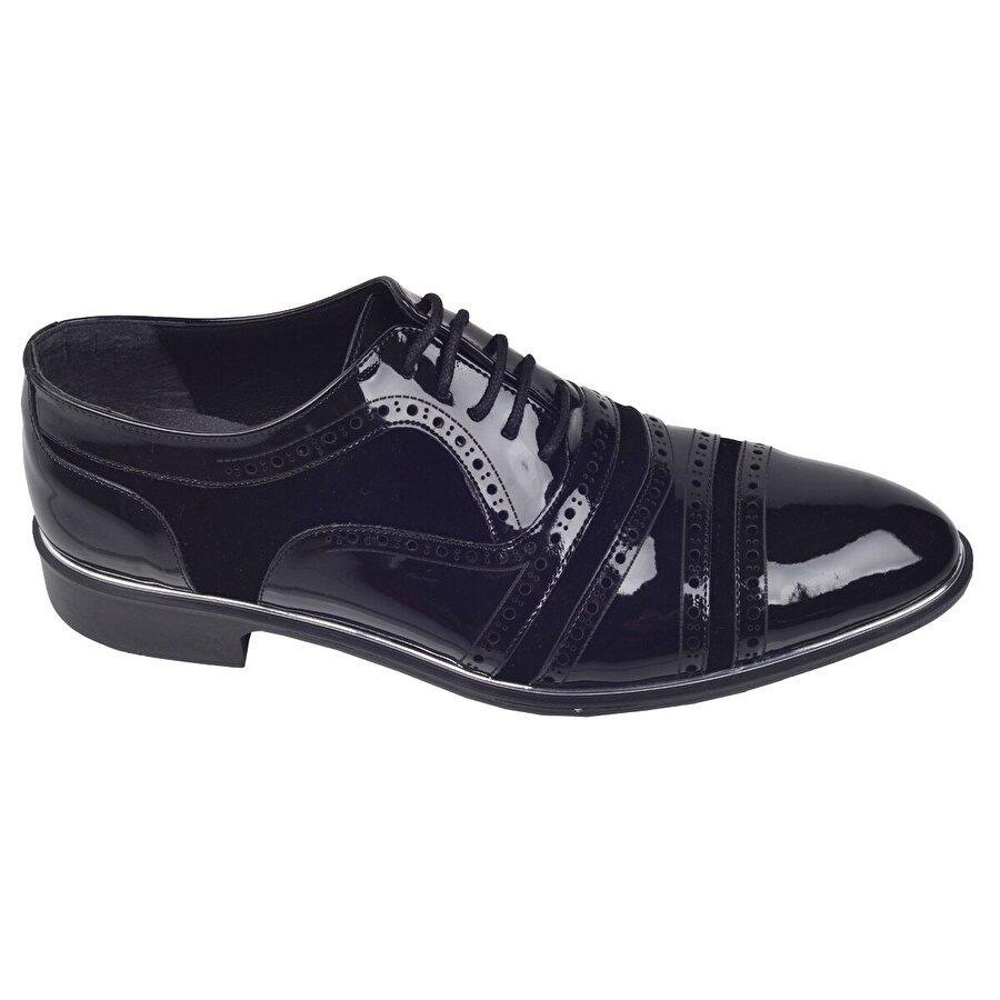 Ayakland Tamboga N583 Günlük Abiye Damatlık Klasik Erkek Ayakkabı SİYAH