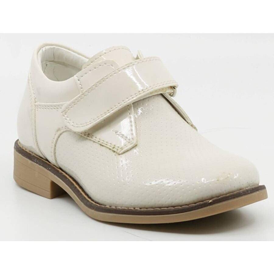 Aydındaş Ayakkabix Rugan Parlak Takım Elbise Çocuk Ayakkabısı Krem