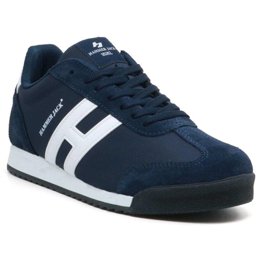 HAMMER JACK Tiriyo Günlük Erkek Spor Ayakkabı Lacİvert Beyaz