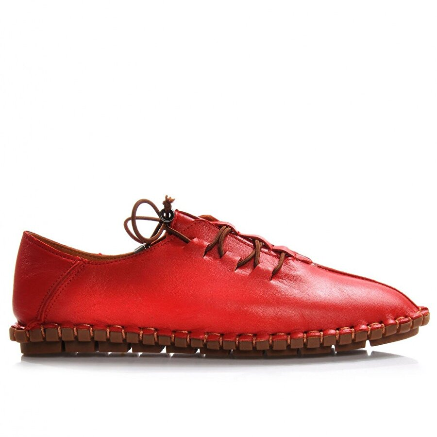 Vizon Ayakkabı Kadın  Kırmızı Günlük Ayakkabı VZN-285Y