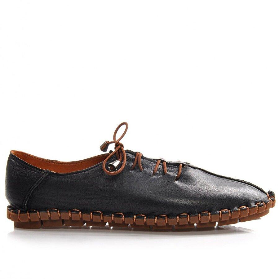 Vizon Ayakkabı Kadın  Siyah Günlük Ayakkabı VZN-285Y