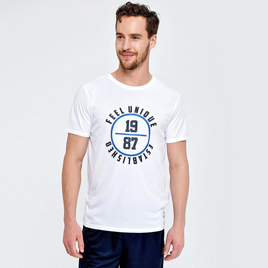 Kinetix M-1845 DURWARD KK TSHIRT Beyaz Erkek T-Shirt