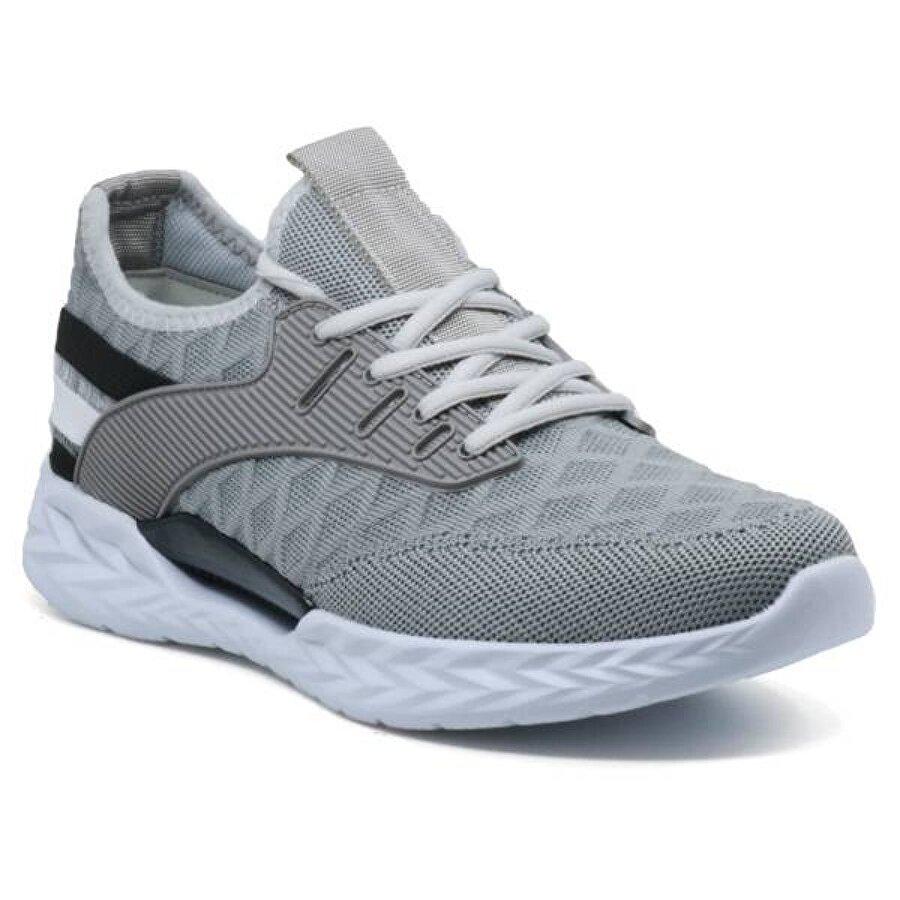 Ayakkabix Bled Günlük Erkek Spor Ayakkabı Grİ