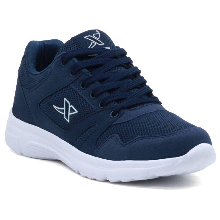 Ayakkabix Spor Ayakkabı Erkek & Bayan & Çocuk Günlük Rahat H Lacİvert Beyaz