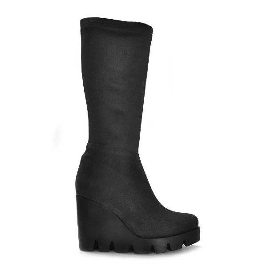 Vizon Ayakkabı Kadın  Gri-Süet Bot VZN19-159K