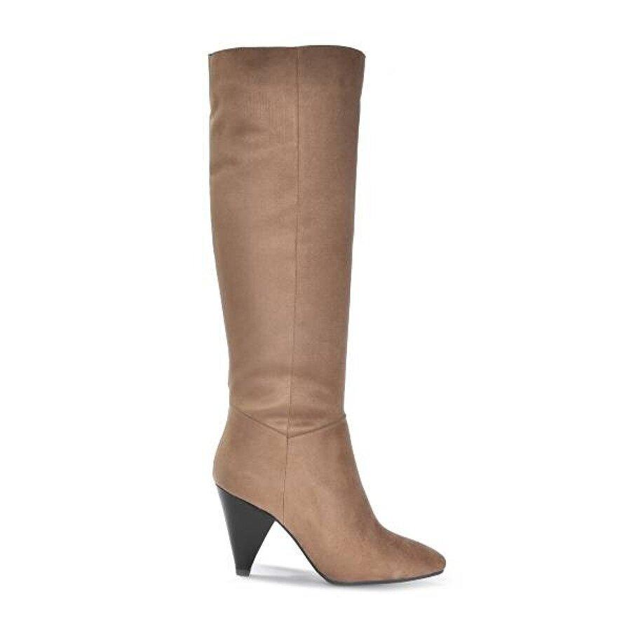 Vizon Ayakkabı Kadın  Vizon-Süet Çizme VZN19-180K