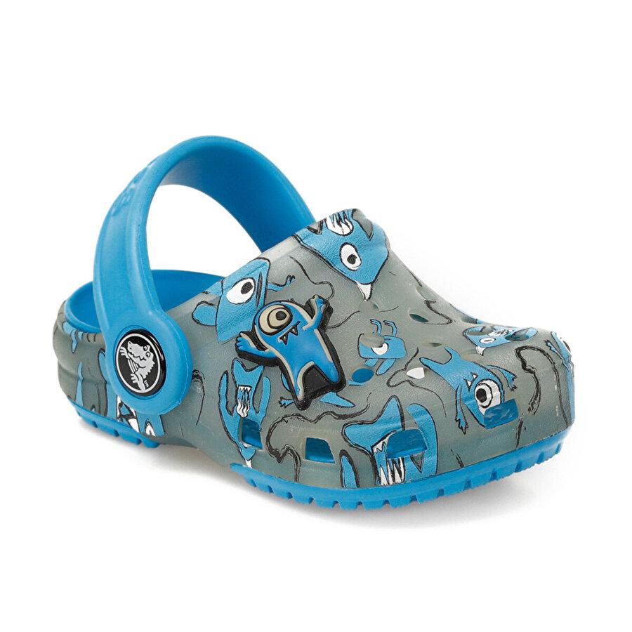 Crocs CHAMELEONS ALIEN PATTERN Açık Mavi Erkek Çocuk Sabo Terlik