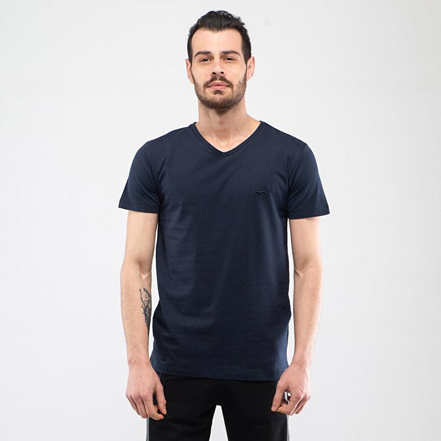 Slazenger SARGON Lacivert Erkek T-Shirt