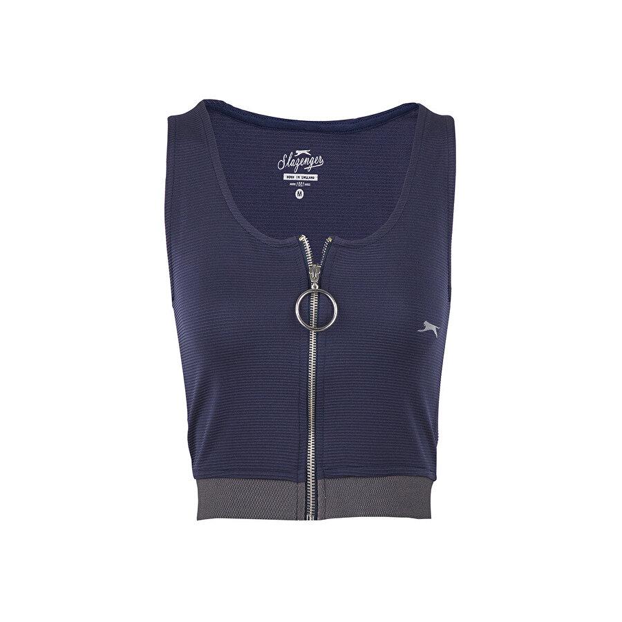 Slazenger PRO FIT Lacivert Kadın Kısa Kol Tişört