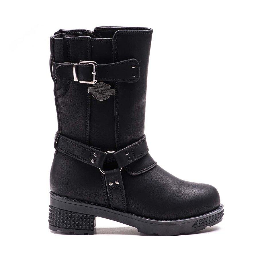 Esem F27265 Çizme Çocuk Ayakkabı Siyah