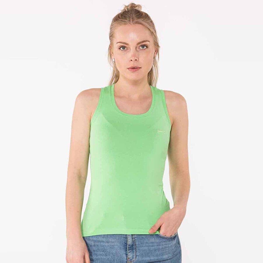 Slazenger SIMONE Kadın Atlet Yeşil