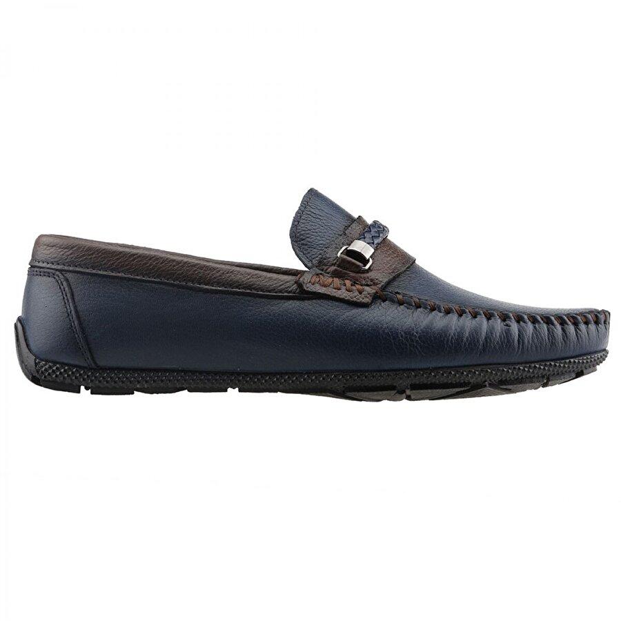 BİGTORRES 1847 Günlük %100 Deri Erkek Ayakkabı LACİVERT