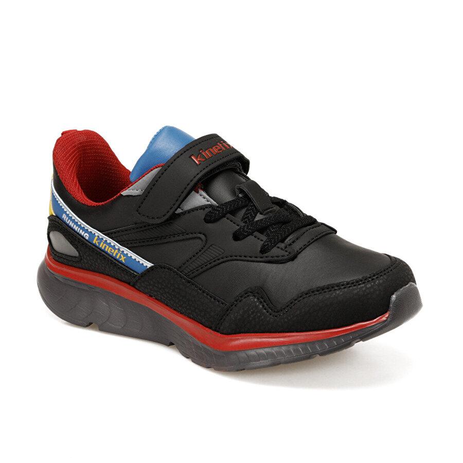 Kinetix DECKER PU J Siyah Erkek Çocuk Yürüyüş Ayakkabısı