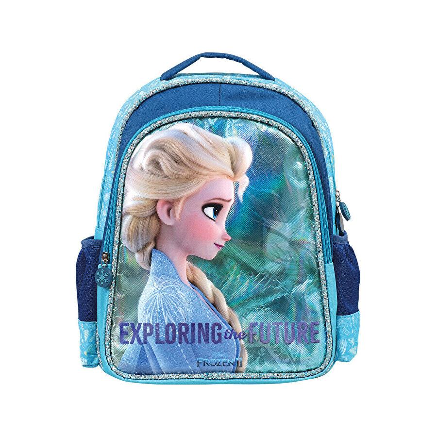 Frozen İLKOKUL ÇANTASI DU Mavi Kız Çocuk Okul Çantası