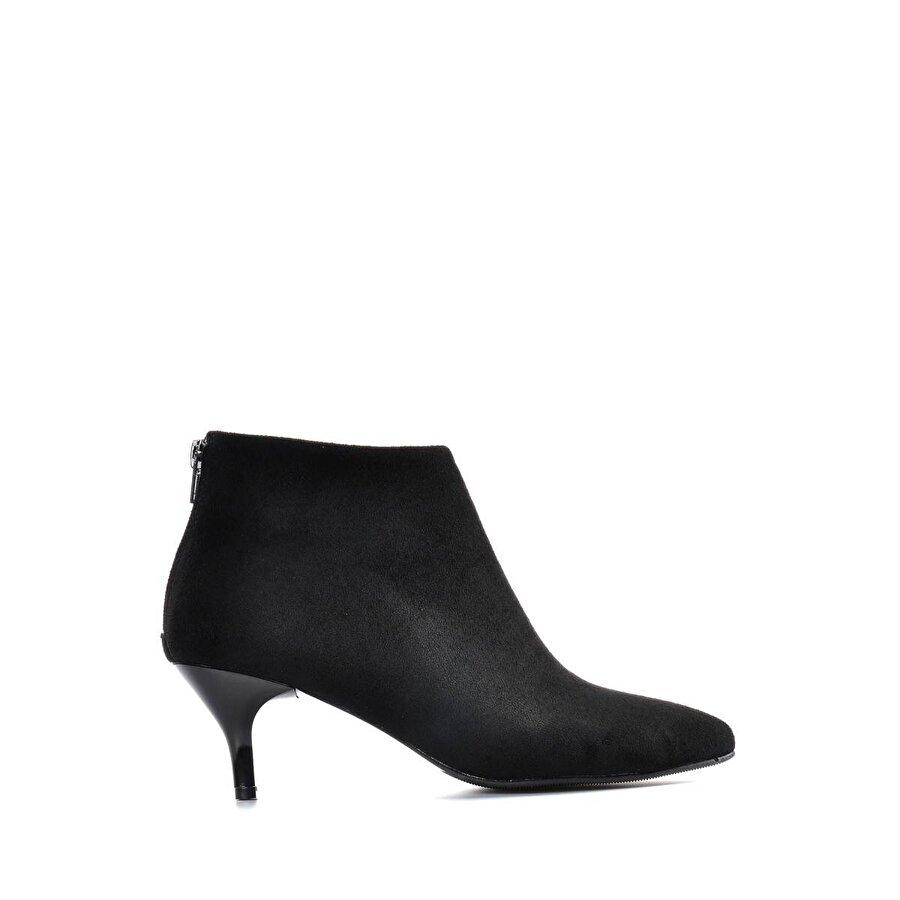 Vizon Ayakkabı Kadın  Siyah-Süet Bot VZN19-020K
