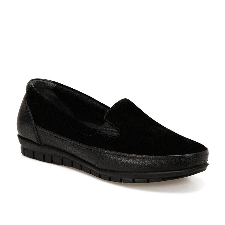 Polaris 5 Nokta 103141SZ Siyah Kadın Comfort Ayakkabı