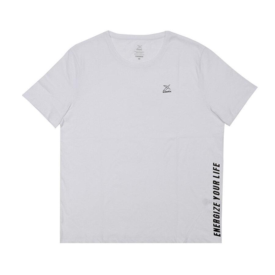 Kinetix M-1848 ERNEST KK TSHIRT Beyaz Erkek T-Shirt